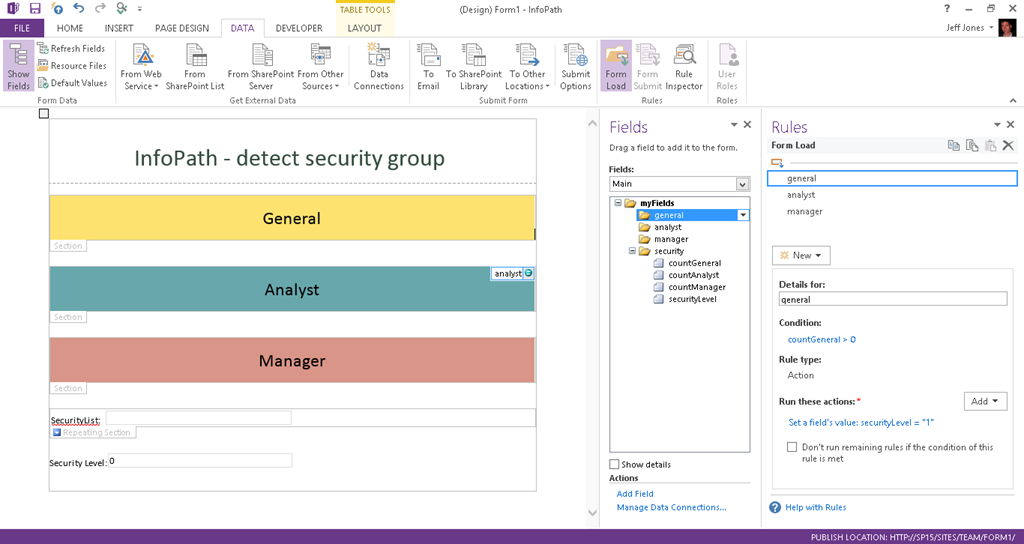 InfoPath tip – detect Security Group with List Item permissions ...